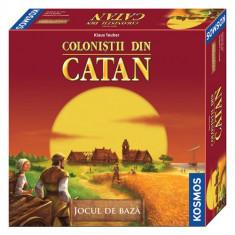 Colonistii din Catan - Jocul de Baza - Joc board game