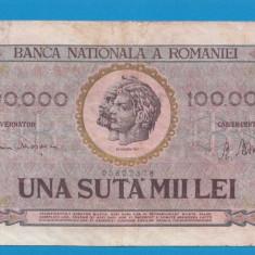 100000 lei 1947 5 - Bancnota romaneasca