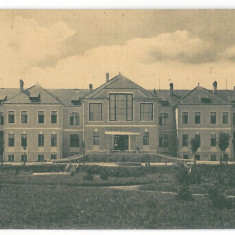3911 - Alba, SEBES, Hospital - old postcard, CENSOR - used - 1916 - Carte Postala Transilvania 1904-1918, Circulata, Printata
