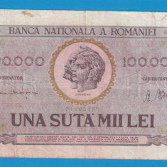 100000 lei 1947 14 - Bancnota romaneasca