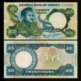 Nigeria 1983 - 20 naira UNC - Timbre straine