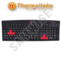 Tastatura Gaming Tt eSPORTS Thermaltake Amaru, Wired, USB GARANTIE !!!, Cu fir, Tastatura iluminata