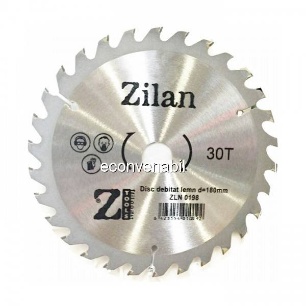 Disc debitat lemn Zilan ZLN0198 180mmx30T foto mare