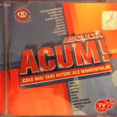 Compilatie Asculta Acum! - Cele Mai Tari Hituri Ale Momentului (1 CD) - Muzica Pop cat music