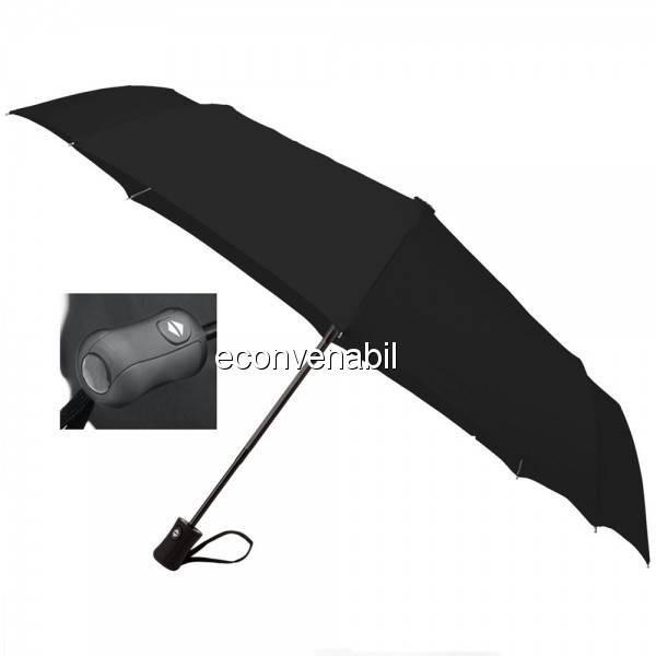 Umbrela de ploaie automata pliabila 8 Segmente husa 56x90cm foto mare