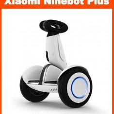 Scuter Electric Hoverboard, Xiaomi Ninebot Plus, viteza 18 km/h, autonomie 35km