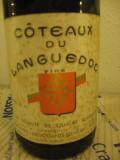 N. 111 coteaux du languedoc,  recoltare. 1967, cl 75 gr 12, Sec, Rosu, Europa