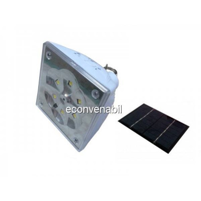 Lampa solara cu Telecomanda GD5017 foto