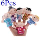 Papusi Set 6 jucarii logoped psihiatru jucarii autism mascote degete familie