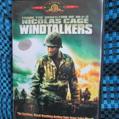 WINDTALKERS (1 DVD ORIGINAL, FILM ACTIUNE cu NICOLAS CAGE - CA NOU!!!), Engleza