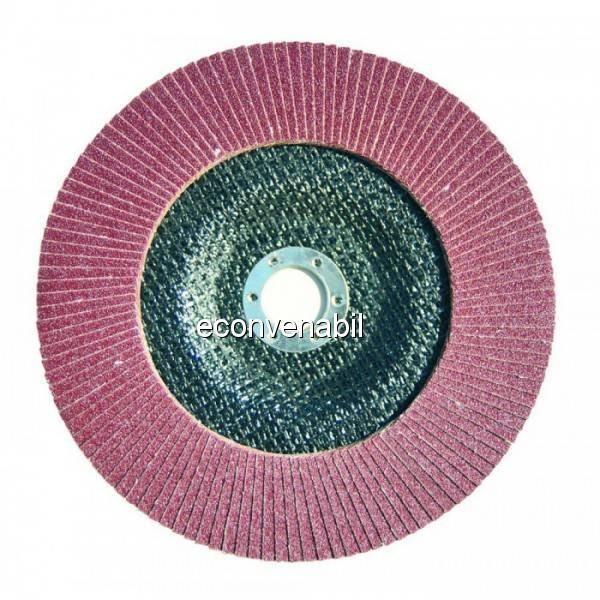 Disc lamelar frontal polizor Stern 180mm granulatie 60 GA18060 foto mare