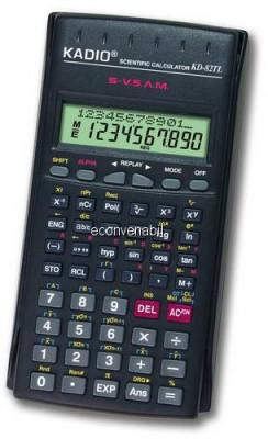Calculator Stiintific de Birou KADIO KD82TL foto