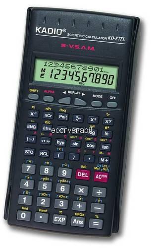 Calculator Stiintific de Birou KADIO KD82TL foto mare