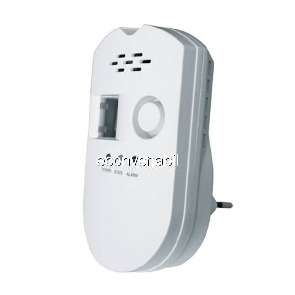 Detector Gaz cu Senzor si Alarma 220V TKOGS foto mare