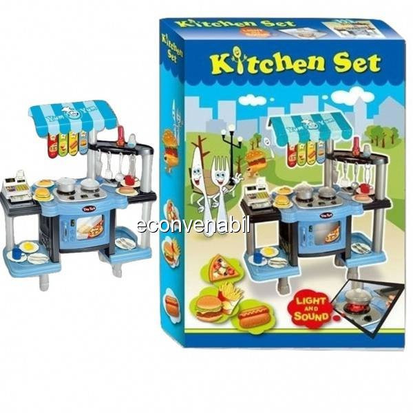 Bucatarie de jucarie multifunctionala Kitchen Set LP079757 foto mare