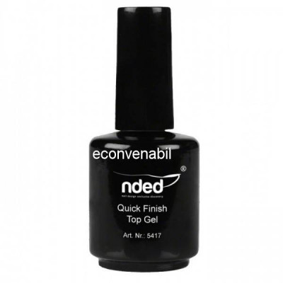 Top Coat Lucios Fara Degresare NDED Germania 15ml foto