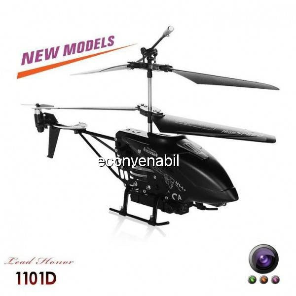 Elicopter cu Gyro 3.5 Canale si Camera Video Lead Honor LH1101D foto mare
