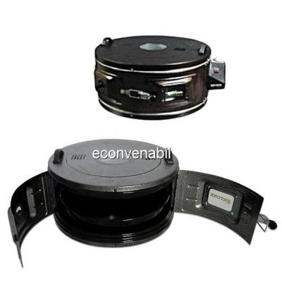 Cuptor Electric Rotund cu termostat Ertone MN9010 1300W 40L foto