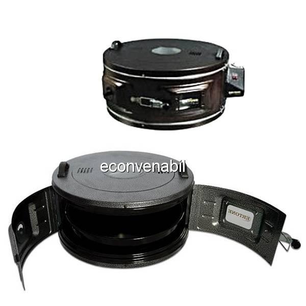Cuptor Electric Rotund cu termostat Ertone MN9010 1300W 40L foto mare