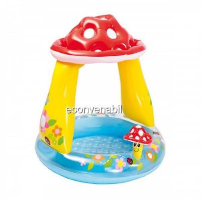 Piscina gonflabila Baby Pool Ciuperca Intex 57114NP foto