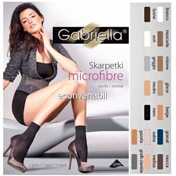 Sosete Gabriella Microfibre 601 foto mare