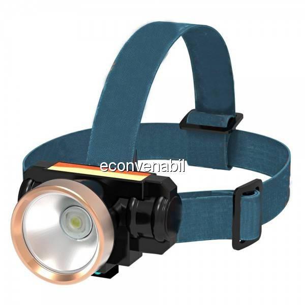 Lanterna Frontala LED 5W cu Acumulator 220V TD805 foto mare