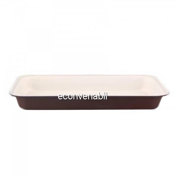 Tava cu interior Ceramic 43x29x5cm Bergner BG5488 foto mare