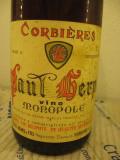 N. 108 paul herpe, vin monopole, recoltare. 1967, cl 75 gr 12, Sec, Rosu, Europa