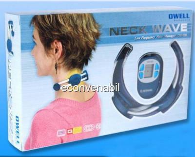 Mini aparat de masaj pentru gat neck wave ow120 foto