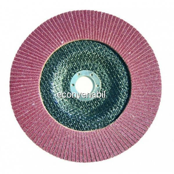 Disc lamelar frontal polizor Stern 180mm granulatie 40 GA18040 foto mare
