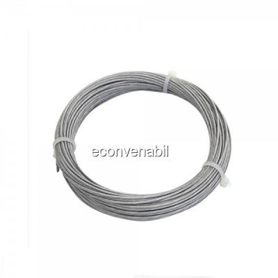 Cablu Tractiune Otel 2mm Rola 100m foto
