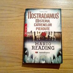 NOSTRADAMUS * Misterul Catrenelor Pierdute ( thriller) - Mario Reading - Litera - Carte Horror