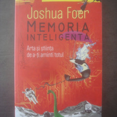 JOSHUA FOER - MEMORIA INTELIGENTĂ