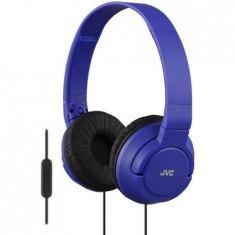 Casti JVC HA-SR185 -A, albastru - Casca PC