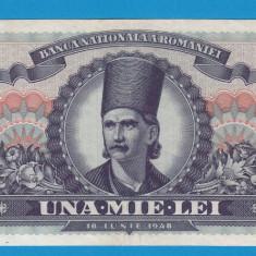 1000 lei 1948 12 XF - Bancnota romaneasca