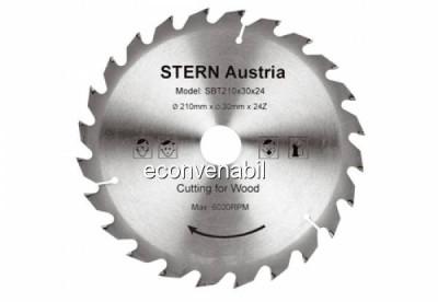 Disc taiere lemn pentru Fierastrau Circular Stern SBT160/24 foto