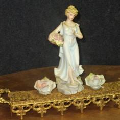 Superba statueta din portelan in stilul Art-Deco piesa veche - Figurina/statueta