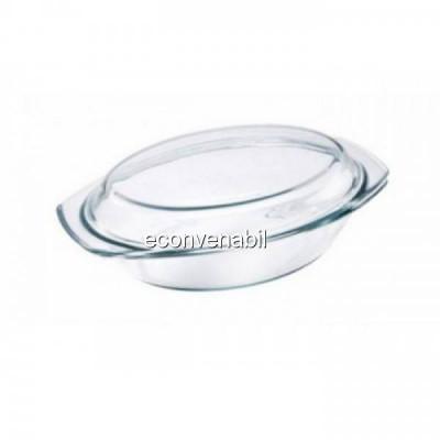 Vas termorezistent oval 2.5L Vabene VB3020011 foto