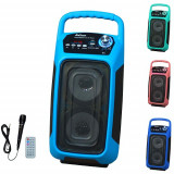 Cumpara ieftin SISTEM BOXA ACTIVA KARAOKE,MIXER INCLUS,MP3 PLAYER USB,TELECOMANDA,BLUETOOTH.NOU