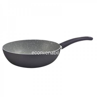 Tigaie wok marmorata Bergner Gourmet BGEU0018 28cm foto