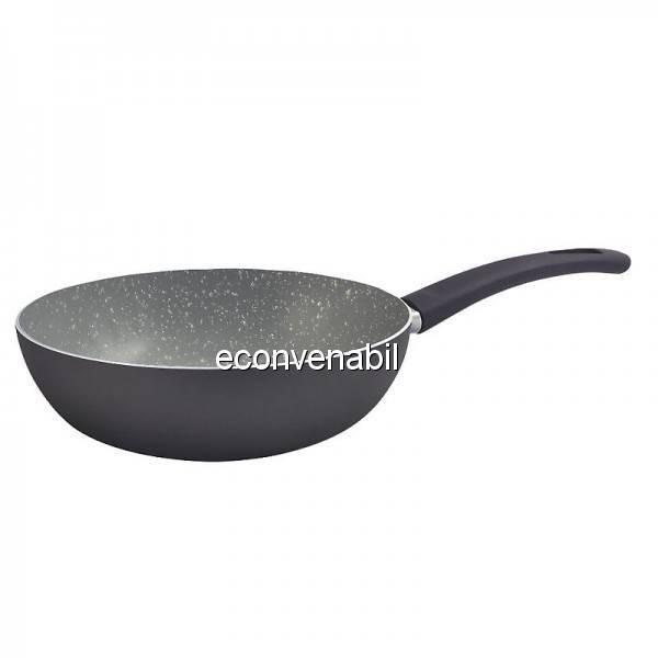 Tigaie wok marmorata Bergner Gourmet BGEU0018 28cm foto mare
