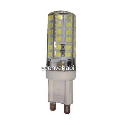 Bec LED 3W 48LED SMD Bulb 220V G9 Alb Rece foto