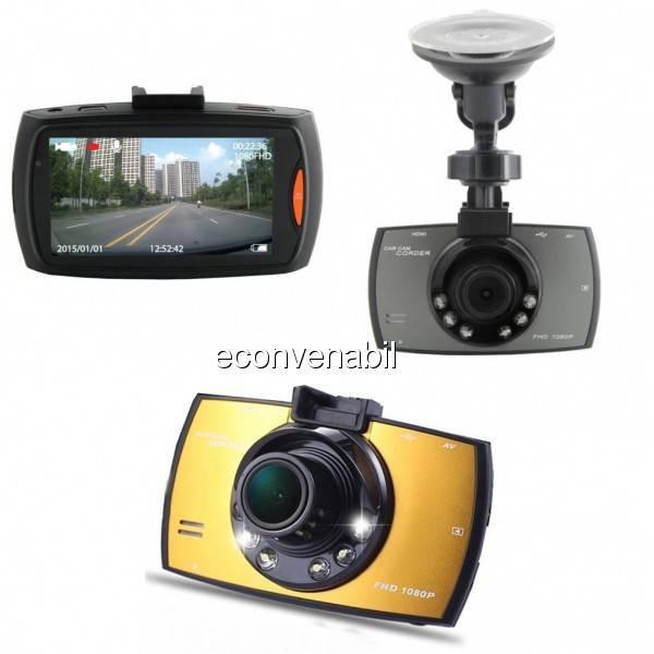 Camera Video Auto HD Senzor de Miscare Car Camcorder G30 foto mare