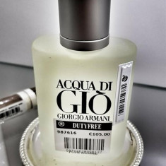Parfum Original Armani Acqua Di Gio Tester 100ml + CADOU, Apa de toaleta, 100 ml, Acvatic