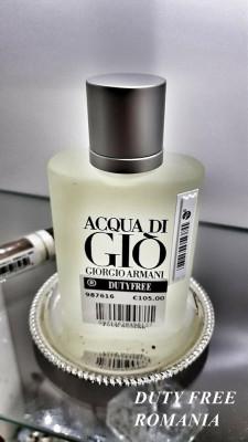 Parfum Original Armani Acqua Di Gio Tester 100ml + CADOU foto