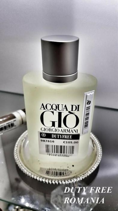 Parfum Original Armani Acqua Di Gio Tester 100ml + CADOU