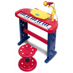 Jucarie orga electronica interactiva in limba engleza - Instrumente muzicale copii Bontempi