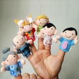 Mascote degete mascote set 6 papusi degete teatru papusi jucarii educative logo