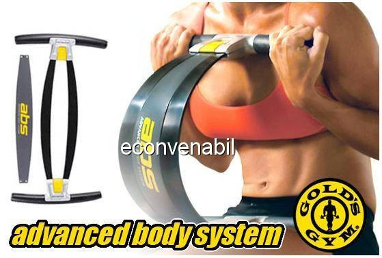 Golds gym abs aparat fitness pentru brate abdomen si coapse foto mare