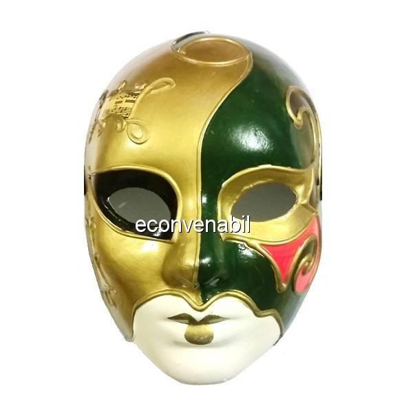 Masca Venetiana de Carnaval in 5 Culori foto mare